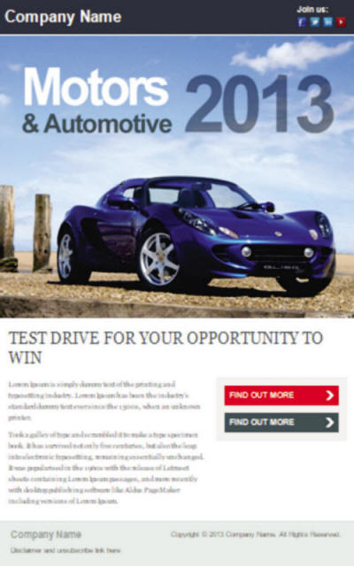 Newsletters Sample Cars JHL Web Services
