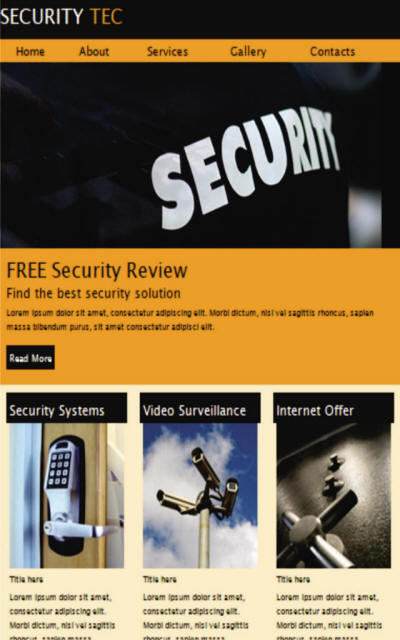 Newsletters Sample Security JHL Web Services