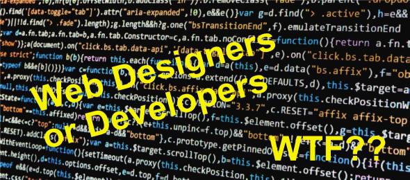 Web Designers or Developers Blog Header