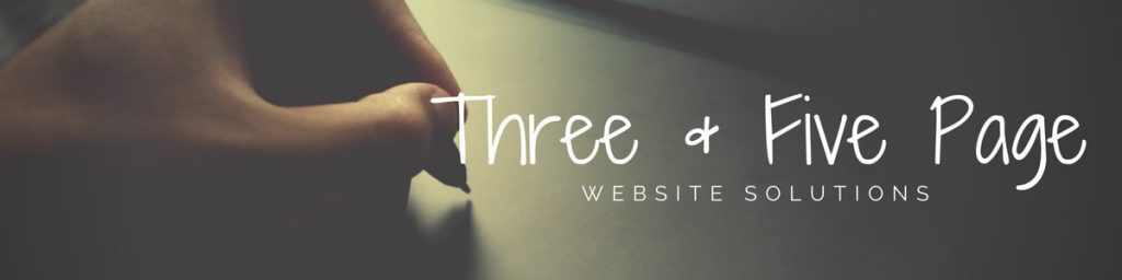 Three & Five Page Website Designs